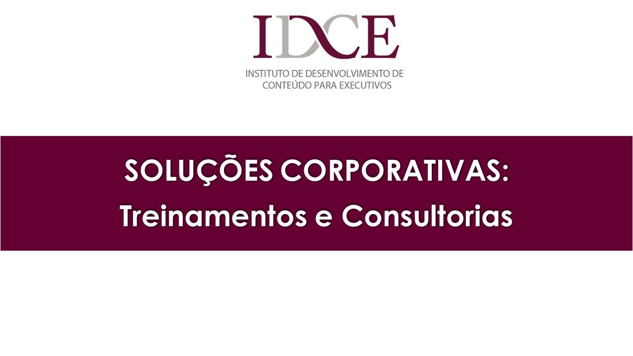 Soluções Corporativas - Treinamentos e Consultoria