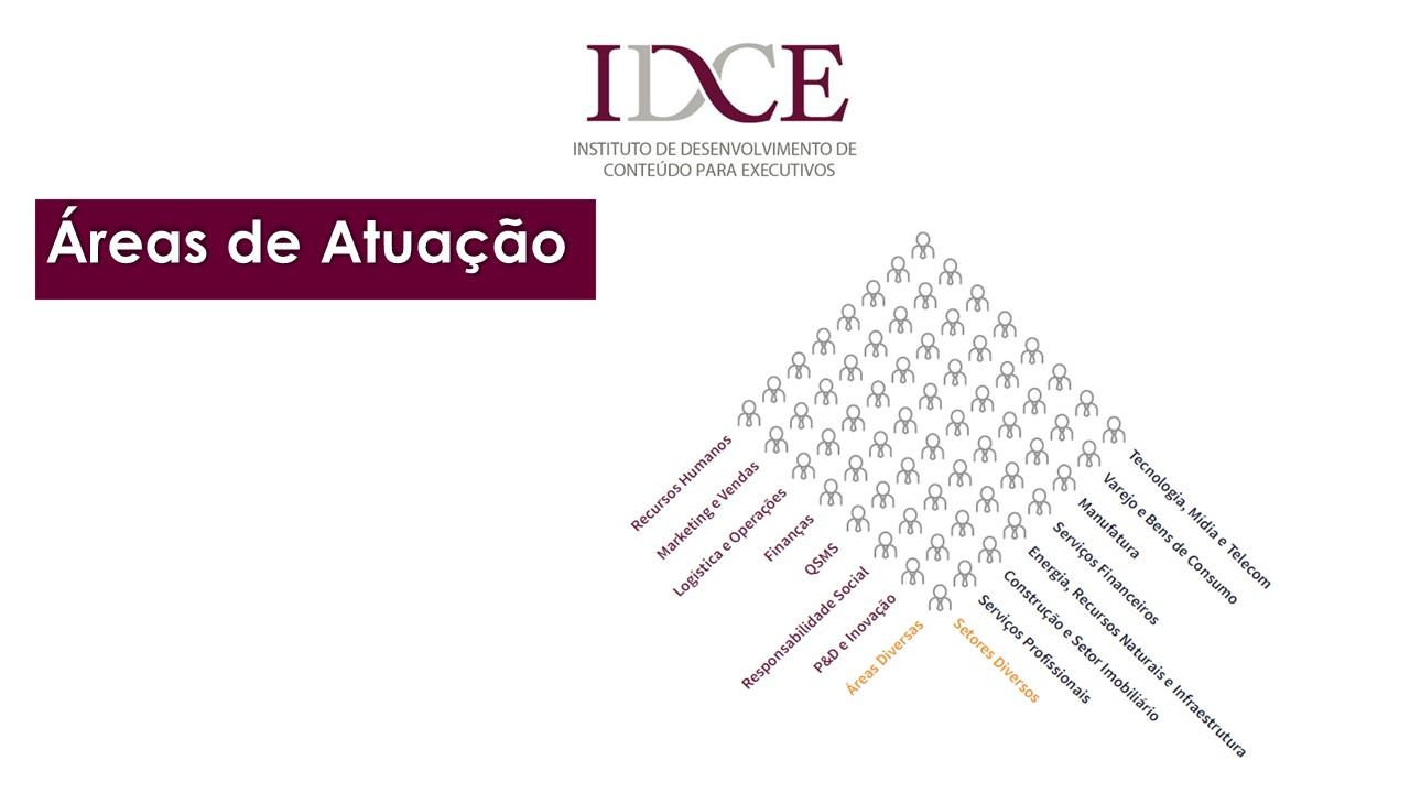 IDCE - Áreas de Atuação